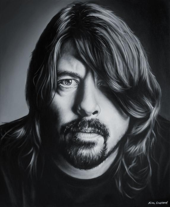 Dave Grohl by chaosart